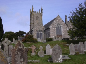 Saint Constantine Church in Constantine Village, Kerrier, Cornwall
